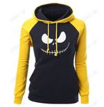 Jack Skellington Pumpkin King Print Women's Hoodies Sweatshirts
