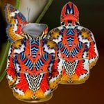 3D All Over Print Colorful Butterfly Hoodie NM