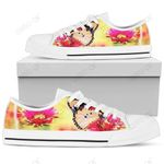 Womens Low Tops Butterfly White Sole