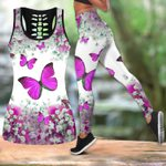 Beautiful Butterfly Combo Tank Legging QB05192006