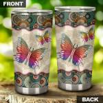 Vintage Mandala Butterfly by SUN Tumbler 20 Oz SU170401