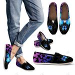 Butterfly Heaven Womens Casual Shoes