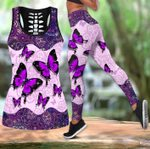 Beautiful Butterfly Combo Tank Legging TR090401