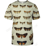 3D All Over Print Butterfly Collector Shirt