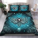Quilt bedding set butterfly love skull PL