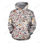 3D All Over Print Butterfly Art Hoodie