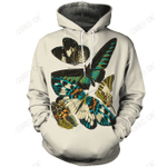 Butterfly Tribal 3D All Over Printed Clothes BF3 NM