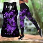 Beautiful Butterfly Combo Tank Legging TR090402A