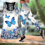 Beautiful Butterfly Combo Tank Legging QB05192006S