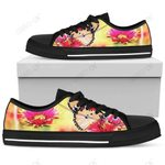 Womens Low Tops Butterfly Black Sole