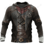 3D All Over Printed Cowboy Armor Hoodie Shirts MP260203
