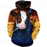 Cow Hoodie T-Shirt Sweatshirt for Men and Women NM121112