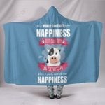 Custom Hoodie Blanket - Happiness Cow