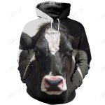 3D ALL OVER PRINTED COW CLOTHES CW1