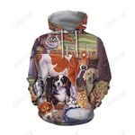 3D All Over Printed Beautiful Cow Hoodie