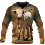 Love Cows 3D All Over Printed Shirts for Men and Women TT0110