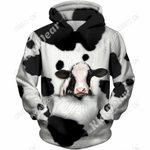 Lovely Dairy Cows Hoodie T-Shirt Sweatshirt for Men and Women NM121116