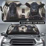 CUSTOMIZE COWS DRIVER - AUTO SUN SHADE