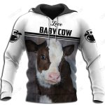 Love Cows 3D All Over Printed Shirts for Men and Women TT0113