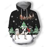 Dairy Cow For Christmas Clothes