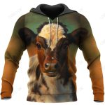 Love Cows 3D All Over Printed Shirts for Men and Women TT0109
