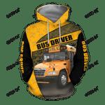 Blue Bird Bus Driver 3D Hoodie JJ100104