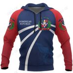 Dominican Republic In My Heart Hoodie Palmchat Bird NVD1295