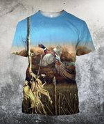 Hunting Bird Art 3D All Over Printed Shirts