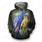 3D All Over Print Birds of a Feather Hoodie