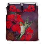 Hawaii Hummingbird And Hibiscus Bedding Set - AH