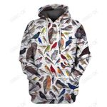 3D All Over Print Birds Hoodie