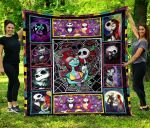 Jack Skellington & Sally Quilt and Blanket 091