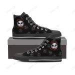 jack skellington high top canvas shoes 8