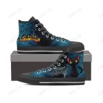 Halloween High Top Canvas Shoes