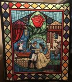 Beauty and the Beast Quilt 108