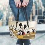 Mickey Leather Tote Hand Bag and Purse Set 04