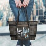 Jack Skellington Leather Tote Hand Bag and Purse Set 10