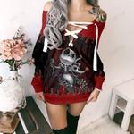 Jack Skellington  Limited Lace-Up Sweatshirt 16