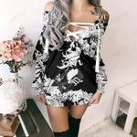 Jack Skellington  Limited Lace-Up Sweatshirt 13