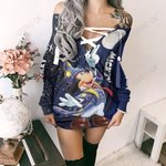 Mickey Mouse Limited Lace-Up Sweatshirt 04