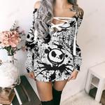 Jack Skellington  Limited Lace-Up Sweatshirt 15