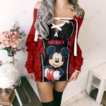 Mickey Mouse Limited Lace-Up Sweatshirt 01