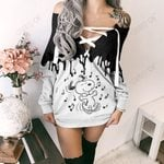 Snoopy Limited Lace-Up Sweatshirt 11