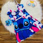 Stitch Cartoon Rompers 001