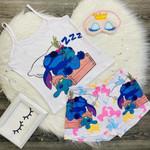 Stitch Fashion Shorts Set 07