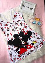 Mickey Love Cartoon Rompers 005