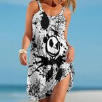 Jack Skellington Beach Dress Fashion 01