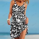 Jack Skellington Beach Dress Fashion 03