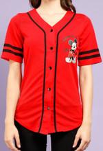 Mickey Baseball Jersey Limited 04