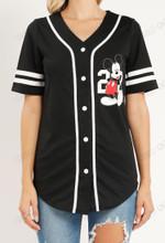 Mickey Baseball Jersey Limited 05